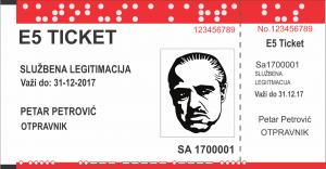 Službena legitimacija