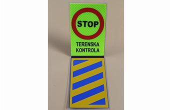 Stop tablica