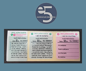 E5 prtljažna karta - 110x42