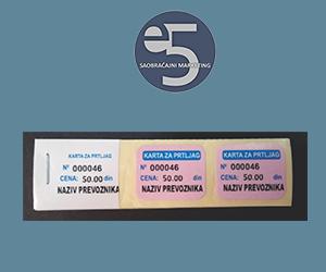 E5 prtljažna karta - 110x30